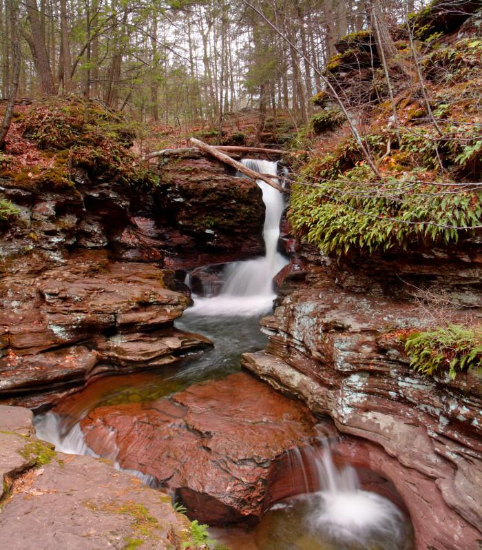 18. Adams Falls, Ricketts Glen State Park