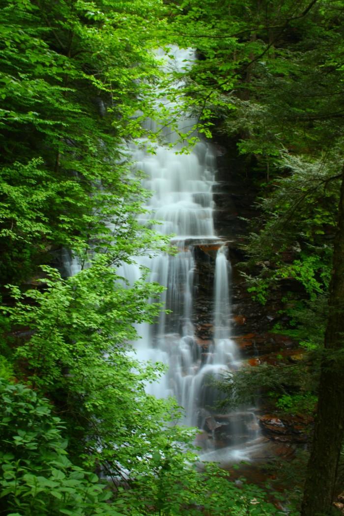 Ricketts Ganoga Falls