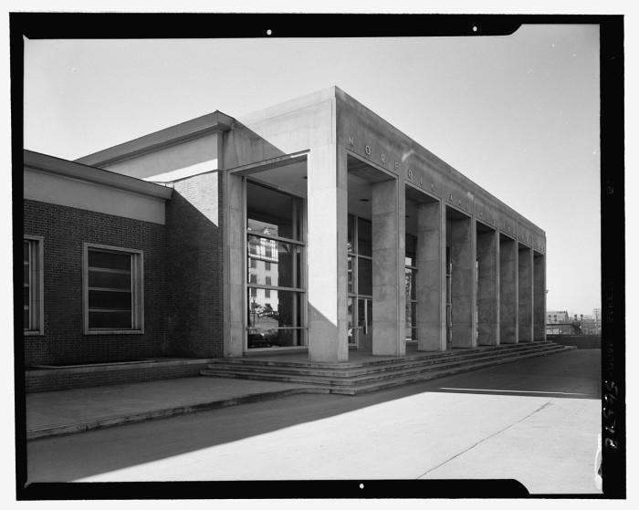 2. Roanoke Train Station of Norfolk and Western railroad (1950)