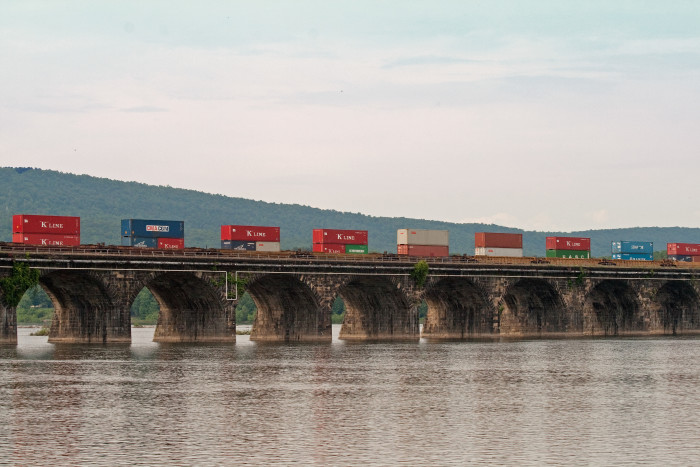 3. We have the Number One Longest Stone Arch Railroad Bridge In World.