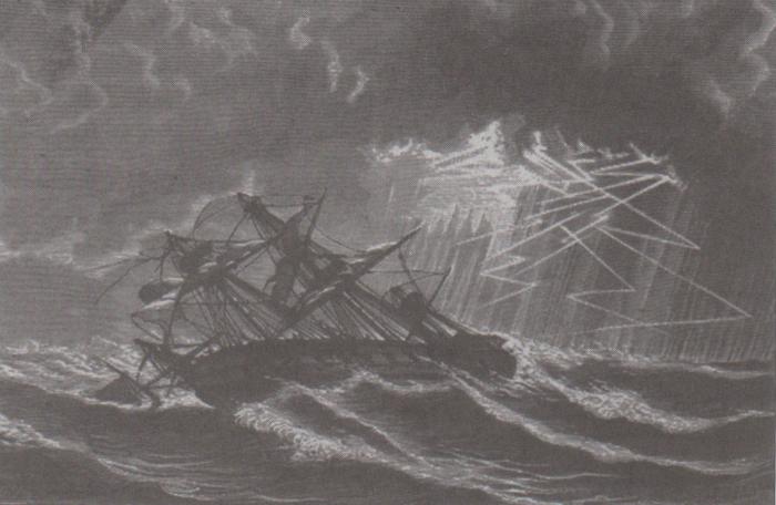 2. The Great Coastal Hurricane of 1806