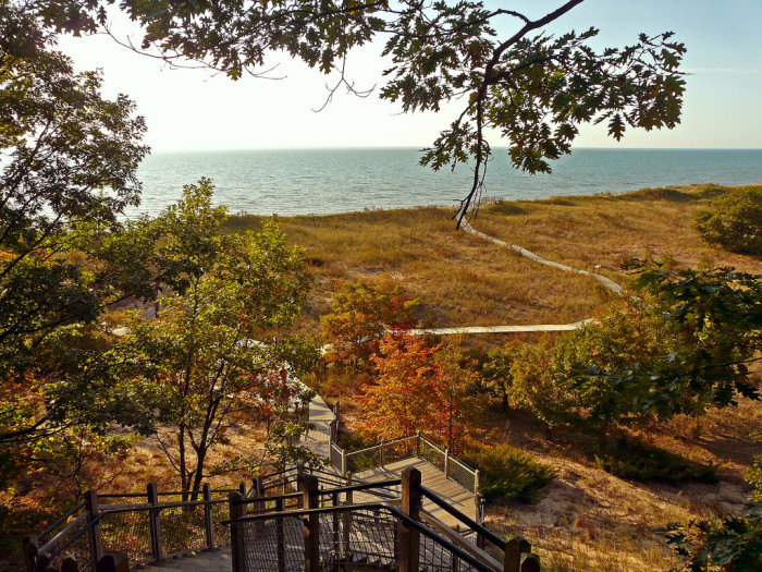 7. Rosy Mound, Grand Haven