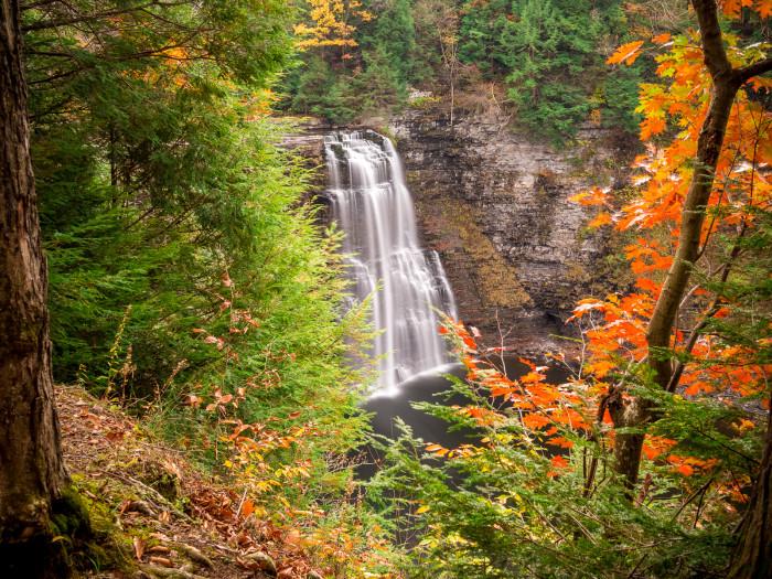 10. Salmon River Falls, Oswego County