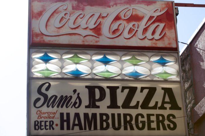 2. Sam's Pizza & Hamburgers