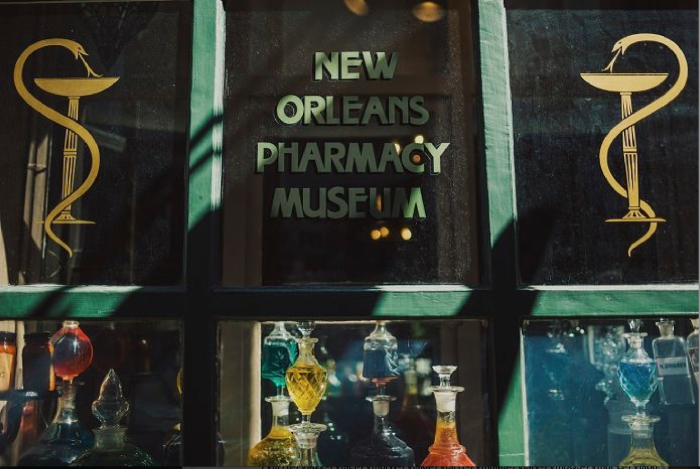 11) New Orleans Pharmacy Museum, 514 Chartres Street