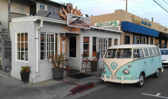 2. Cafe' Zoolu in Laguna Beach