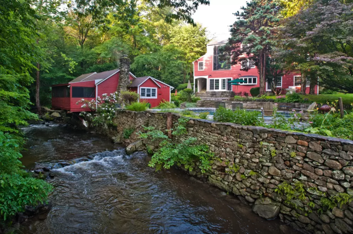 6. This old mill is a brand new experience that you will love! Just look at the scenery!