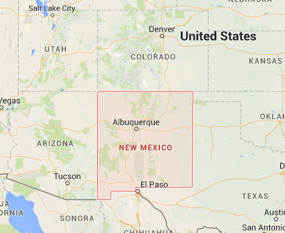 1. Where is New Mexico?