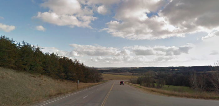 It is mostly farmland, as the town was bypassed by railroads in 1905.
