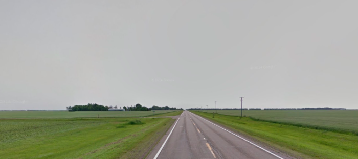 Just west of the old cemetery, Paul Sethre  reports that people have pulled over to pick up said hitchhiker, but then something truly strange happens.