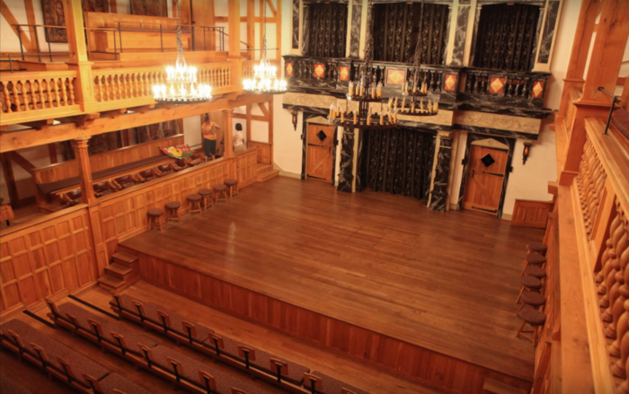 3. The Blackfriar's Playhouse is a must-see