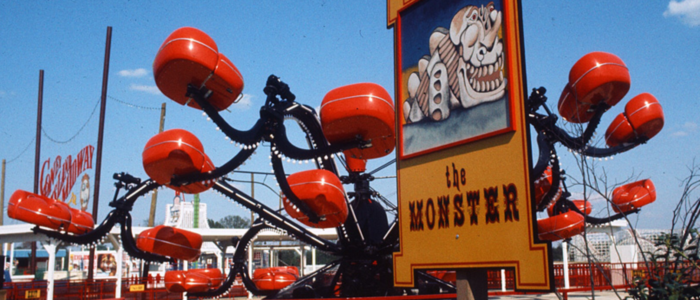 The rides looked wonderfully vintage.