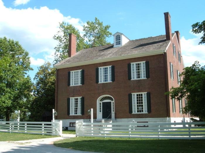 2. Shakertown at Pleasant Hill in Harrodsburg