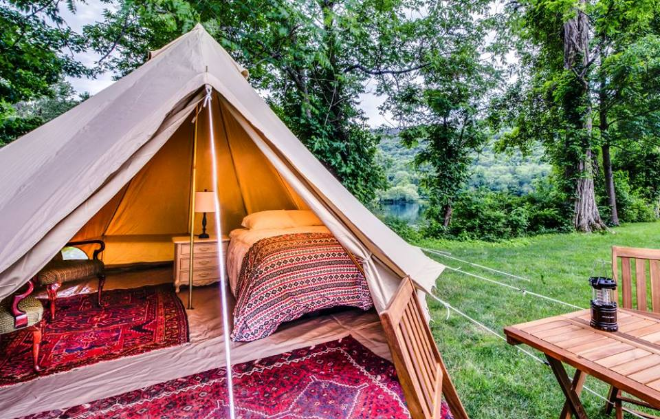 7 Luxury Glamping Sites In Pennsylvania