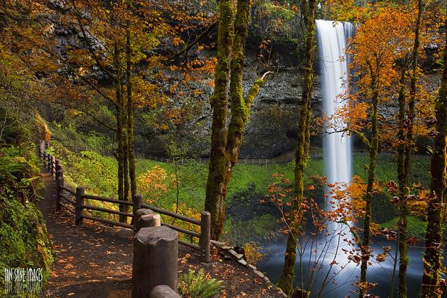9. Silver Creek Falls, Oregon