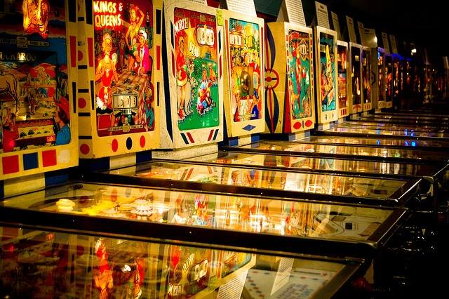 An amazing afternoon at Silverball Vintage Pinball Museum & Arcade.