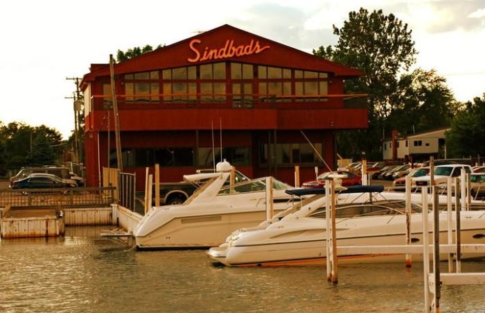 11. Sindbad's Restaurant and Marina, Detroit