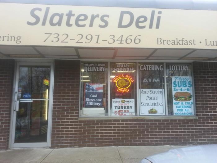 1. Slater's Deli, Middletown