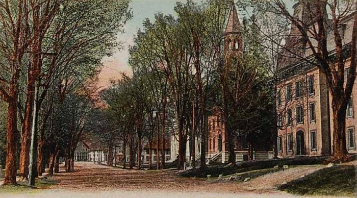 10.  St. Johnsbury a century ago.