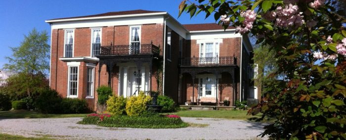 8. Springhill Winery and Plantation B&B on 714 N 4th Street in Bloomfield