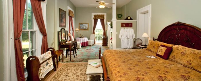 Springhill Winery and Plantation B&B.