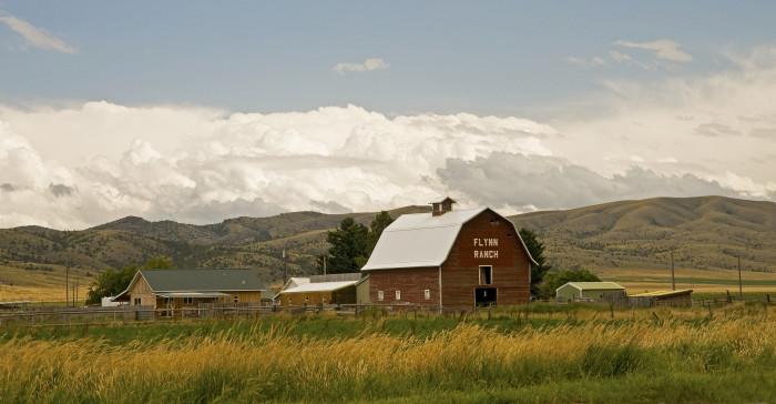 1. Flynn Ranch, south of Townsend
