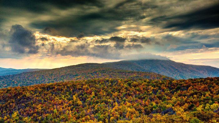 Virginia: Blue Ridge Mountains