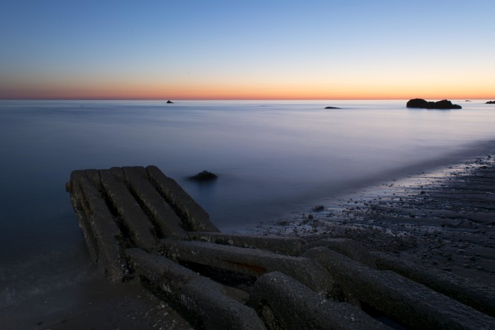 7. Always picturesque, Long Island's beauty can be seen here again during a sunrise at Scotts Beach.