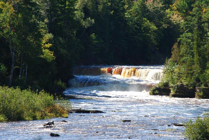 10. Tahquamenon Falls, Paradise