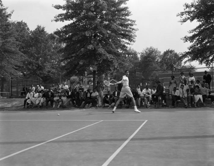11. Tennis practice (1956)