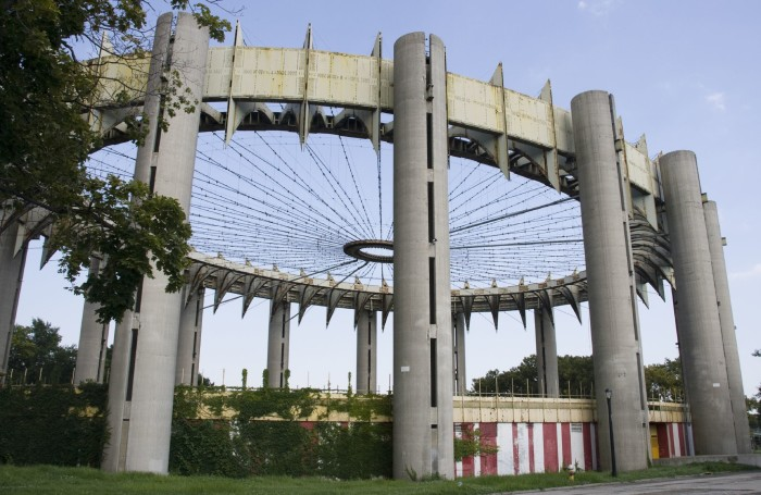 6. The Ruins of the New York World's Fair, Queens