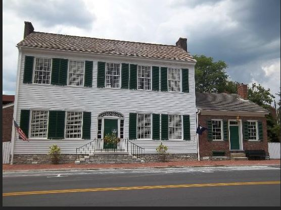 4. The McDowell House Museum at 125 S Second Street