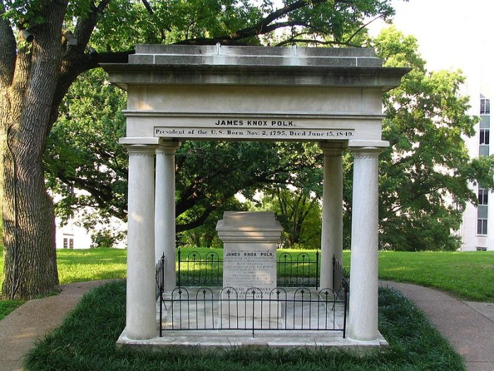 5. The Tomb of James K. Polk