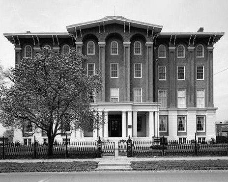 8. The first state supported school for the deaf was hosted in Danville.