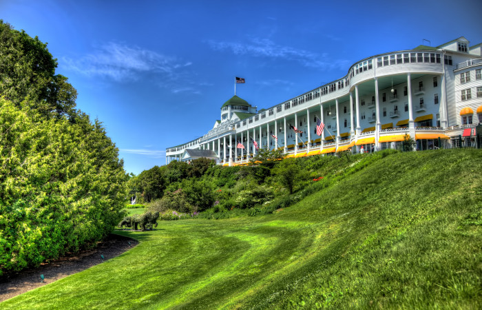 13. It's about trips to Mackinac Island.