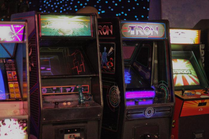 12. Head to the arcade.