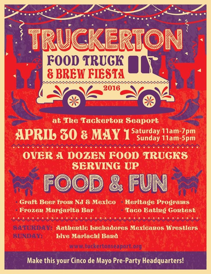 "1. ""Truckerton"" Food Truck Festival, Tuckerton Seaport"