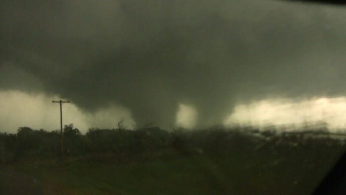 14. Tornadoes are also scary.