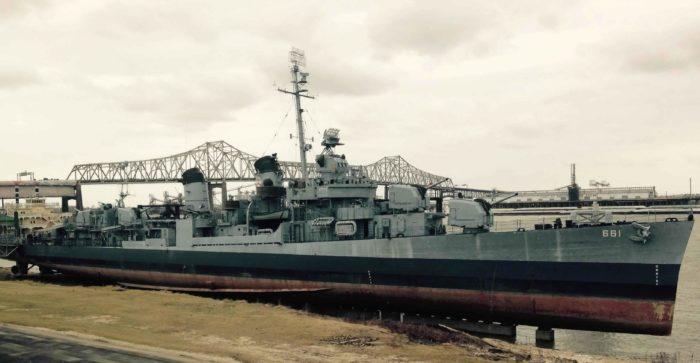 4. USS Kidd, Baton Rouge