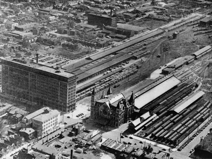 6. Union Station had multiple trains running daily in the 1940s.