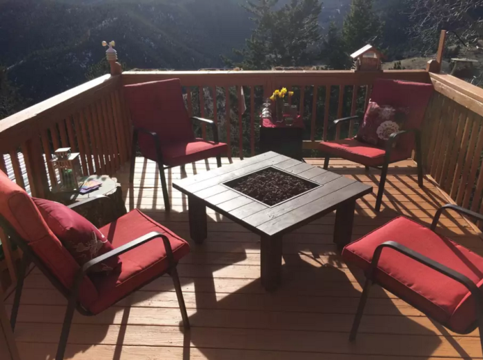 11. Mountain Retreat with a Heavenly View (Idaho Springs)
