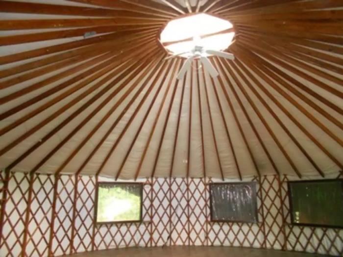 9. The Light Center's Pacific Yurt (Baldwin City)