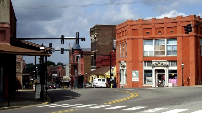 13. Quaint downtowns with great little shops