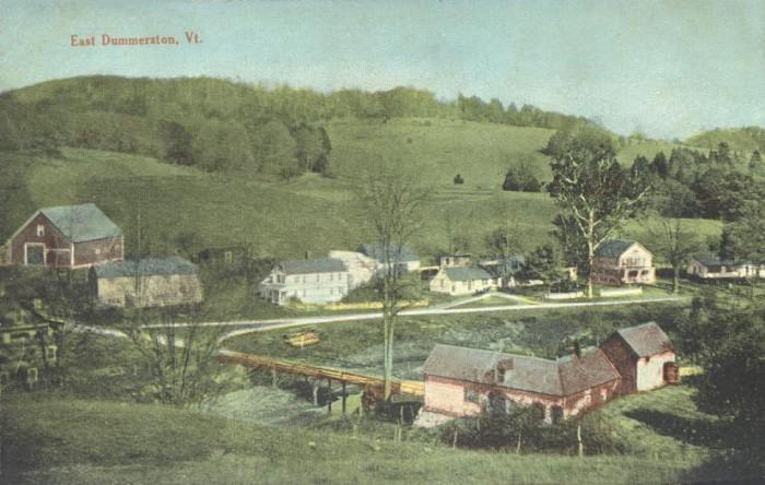 12.  East Dummerston in 1913.