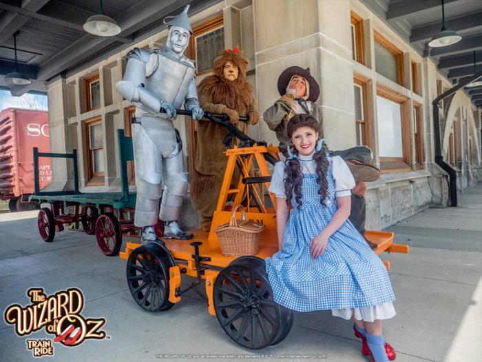 5. Wizard of Oz Train Ride