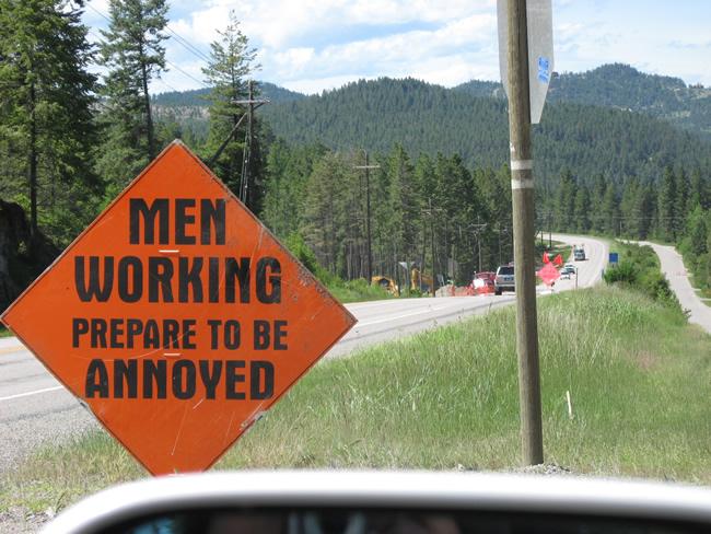 1. Construction season, in a nutshell.