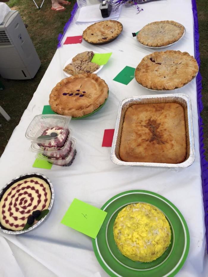 WV blackberry festival food