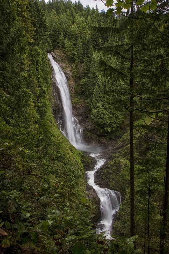 Wallace Falls State Park — Middle Wallace Falls