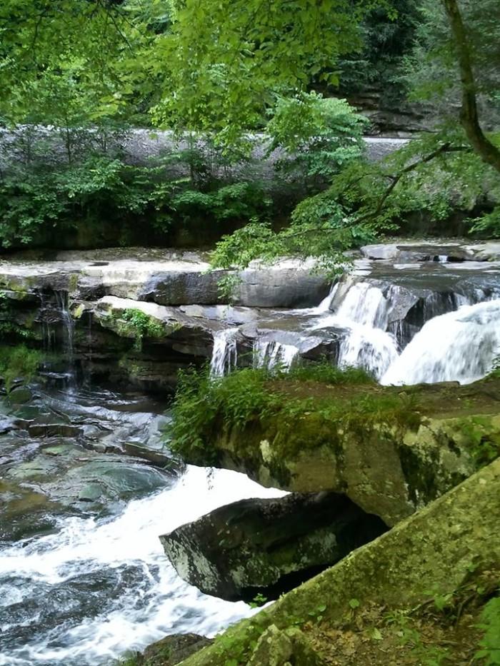 10. Fayette County Waterfall