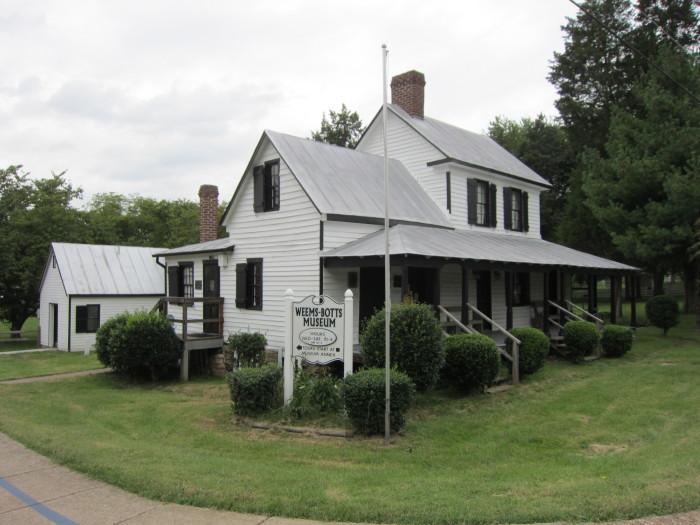 Weems-Botts_House_(Dumfries,_Virginia)_001